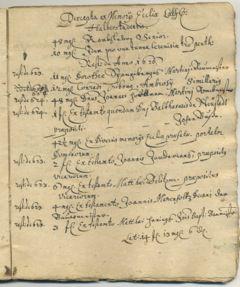 Excerpts Registers 1780 81