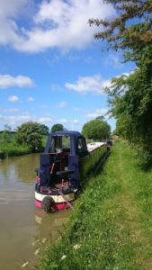 photo of narrow boat Rosalie