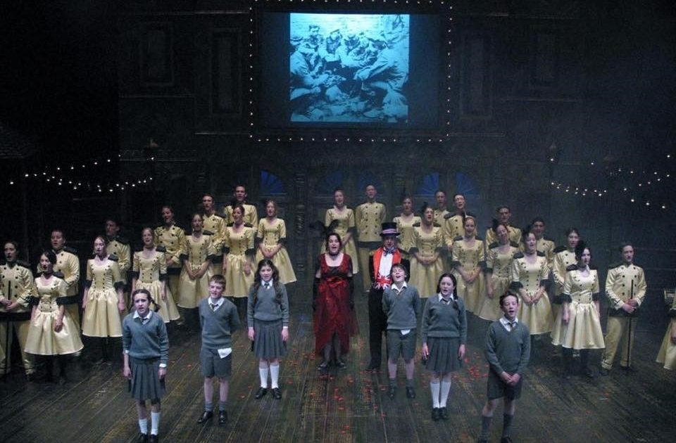 Cast of Oh What a Lovely War! at the Northcott Theatre, Exeter in 2003