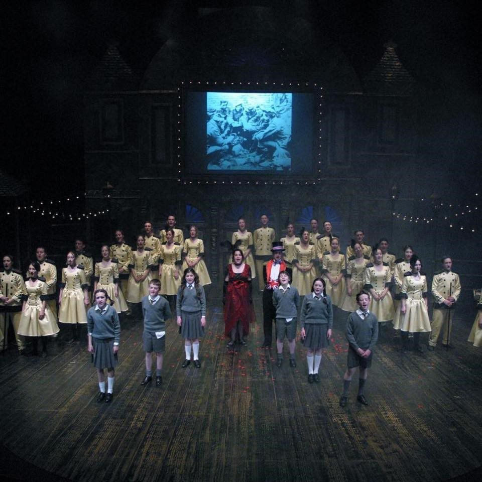 Cast of Oh What a Lovely War at the Northcott Theatre Exeter in 2003