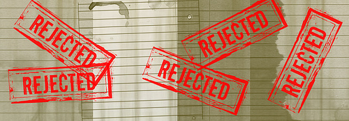 Are your rejection letters piling up?
